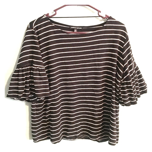 Cable & Gauge Tops - Striped Blouse